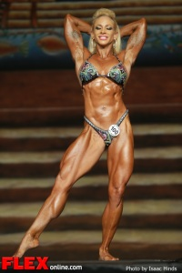 Jill Rudison - IFBB Europa Supershow Dallas 2013 - Women's Physique