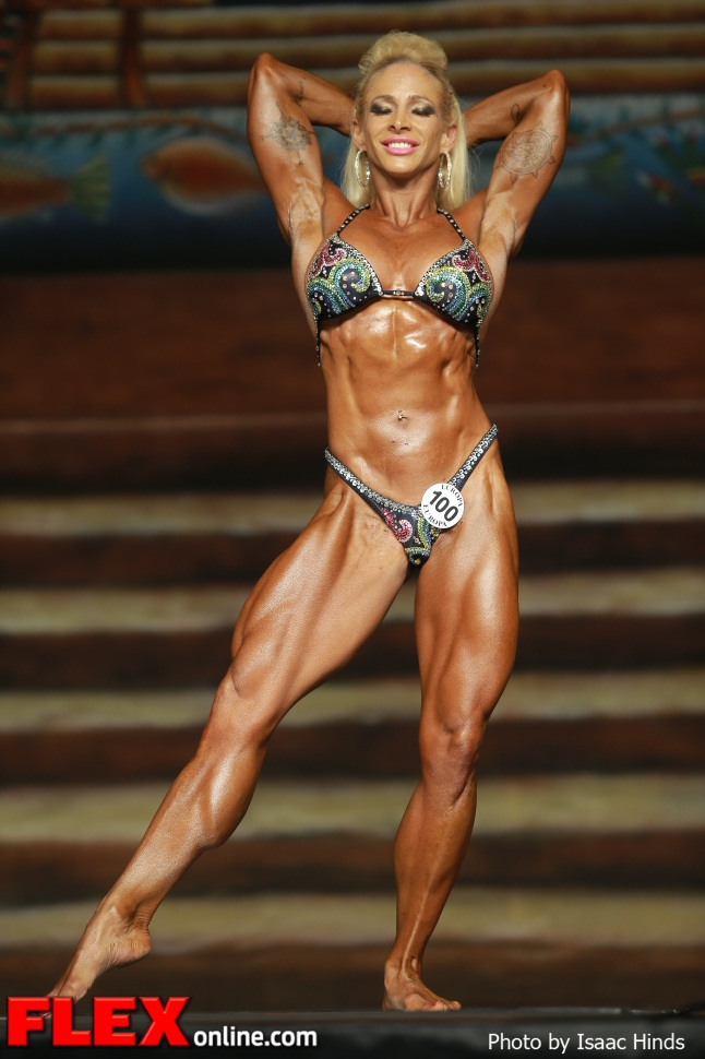Jill Rudison - IFBB Europa Supershow Dallas 2013 - Women's Physique