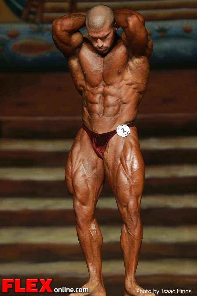 Santana Anderson - IFBB Europa Supershow Dallas 2013 - Men's Open