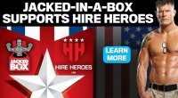 M&F and Jacked-In-A-Box Support Hire Heroes USA