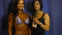 Erin Stern after placing 3rd in the 2013 Arnold Classic