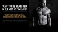 Get Featured in the Next Isopure Campaign