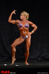 Carrie Woolridge - Women's BB Middleweight - 2013 North Americans