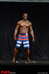 Henry James - Men's Physique B - 2013 North Americans