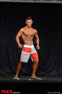 Tyler Stines - Men's Physique B - 2013 North Americans