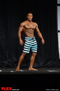 Andre Adams - Men's Physique B - 2013 North Americans