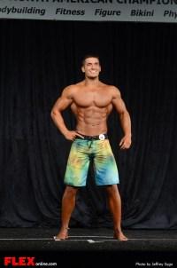 Chase Savoie - Men's Physique C - 2013 North Americans
