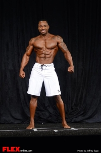 Jacques Lewis - Men's Physique F - 2013 North Americans