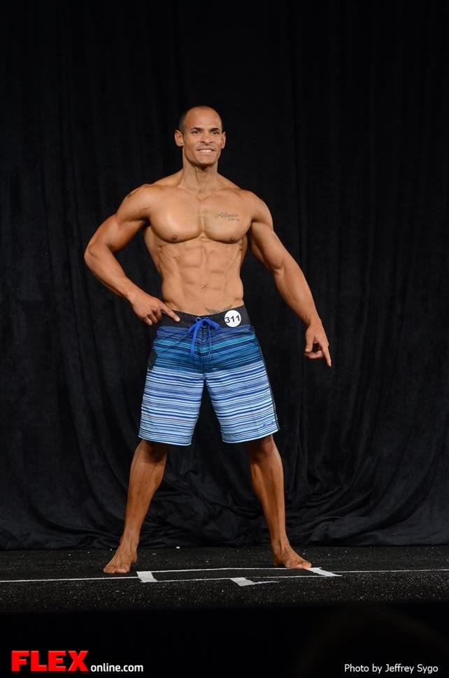 David Velazquez - Men's Physique A 35+ - 2013 North Americans