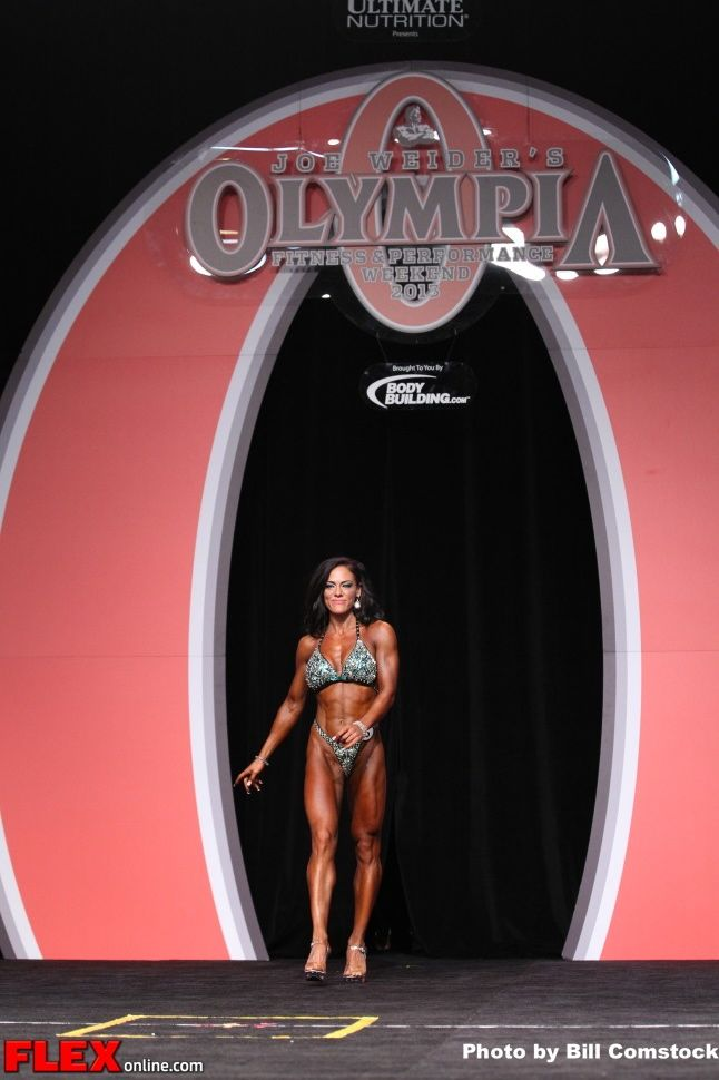 Mallory Haldeman - Figure Olympia - 2013 Mr. Olympia