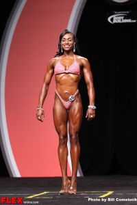 Kamla Macko- Figure Olympia - 2013 Mr. Olympia