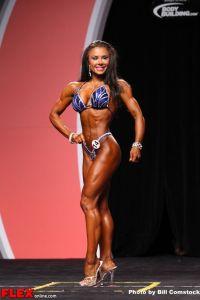 Alea Suarez - Figure Olympia - 2013 Mr. Olympia