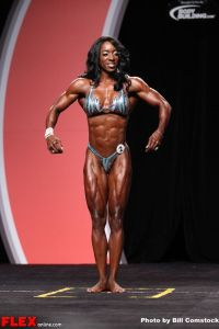 Tycie Coppett - Women's Physique Olympia - 2013 Mr. Olympia