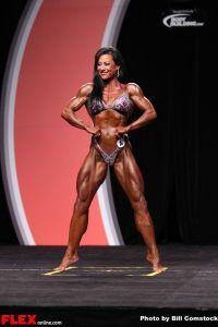 Karin Hobbs - Women's Physique Olympia - 2013 Mr. Olympia