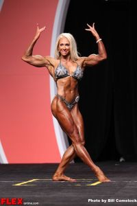 Mindi O'Brien - Women's Physique Olympia - 2013 Mr. Olympia
