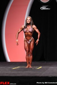 Jillian Reville - Women's Physique Olympia - 2013 Mr. Olympia