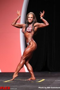 Jillian Reville - Women's Physique Olympia - 2013 Mr. Olympia
