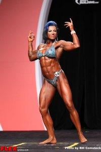 Mikalia Soto - Women's Physique Olympia - 2013 Mr. Olympia