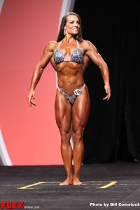 Toni West - Women's Physique Olympia - 2013 Mr. Olympia
