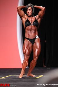 Maria Rita Bello - Ms. Olympia - 2013 Mr. Olympia