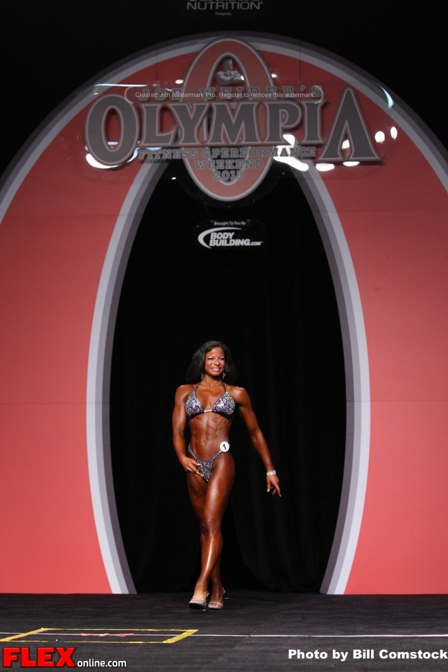 Michelle Blank - Fitness Olympia - 2013 Mr. Olympia