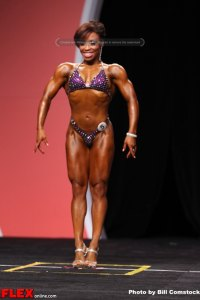 Nicole Duncan- Fitness Olympia - 2013 Mr. Olympia