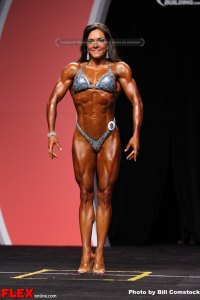 Fiona Harris - Fitness Olympia - 2013 Mr. Olympia