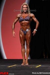 Diana Monteiro - Fitness Olympia - 2013 Mr. Olympia