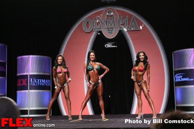 Stacey Alexander - Bikini Olympia - 2013 Mr. Olympia