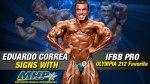 Eduardo Correa Joins Team MHP
