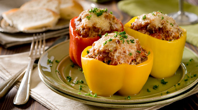 Gain Mass With Stuffed Peppers