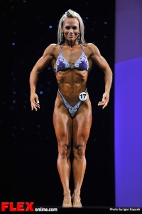 Allison Ethier - Fitness - 2013 Arnold Classic Europe