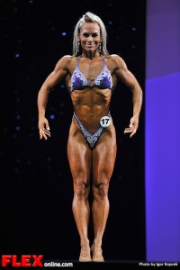 Allison Ethier - Fitness - 2013 Arnold Classic Europe