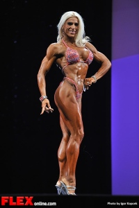 Babette Mulford - Fitness - 2013 Arnold Classic Europe