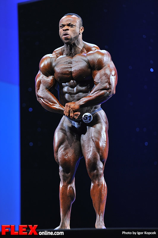 Clarence DeVis - Men's Bodybuilding - 2013 Arnold Classic Europe