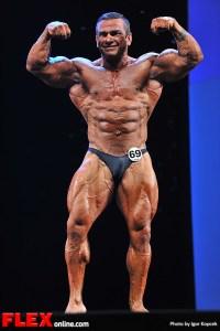 Carlos Asencio - Men's Bodybuilding - 2013 Arnold Classic Europe