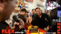 Candid Pics with Arnold Schwarzenegger at the Arnold Spain