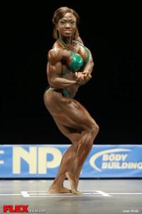 Alana Shipp - Women's Middleweight - 2013 NPC Nationals