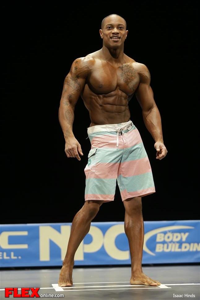 Brandon Hendrickson - Men's Physique B - 2013 NPC Nationals