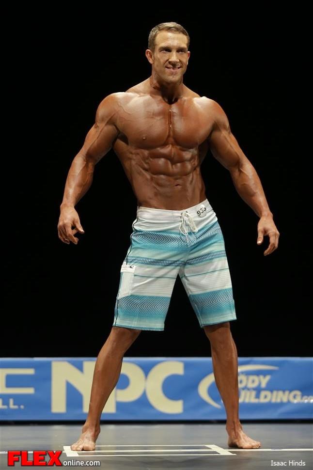 Matt Pattison - Men's Physique F - 2013 NPC Nationals