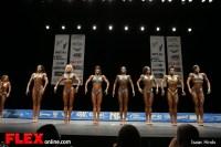 Hanna Hallman - Women's Physique A - 2013 NPC Nationals