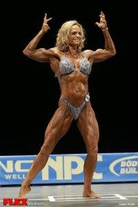 Nickie Clark - Women's Physique B - 2013 NPC Nationals
