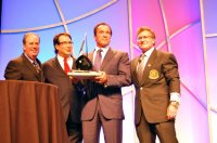 Arnold Schwarzenegger Receives Infinity Award