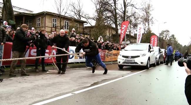 Strongman Zydrunas Savickas Sets New World Record