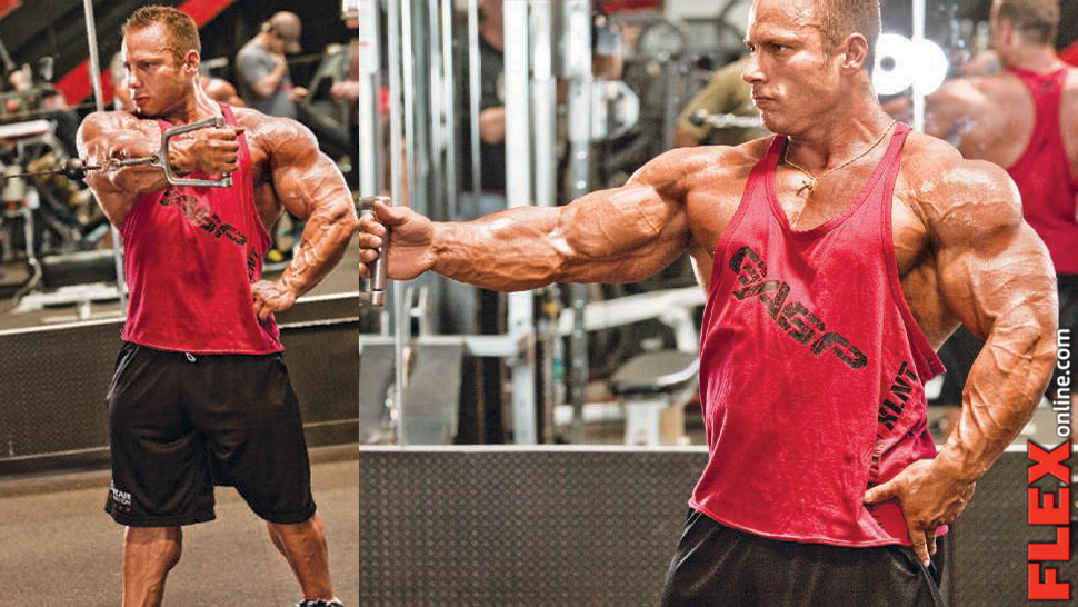 Top Secret Chest Arsenal Part 5: One-Arm Cable Crossover | Muscle & Fitness