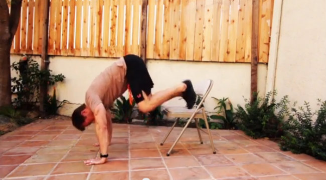 Workout Anywhere: Chair Circuit