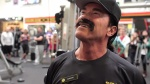 arnold undercover at gold's gym