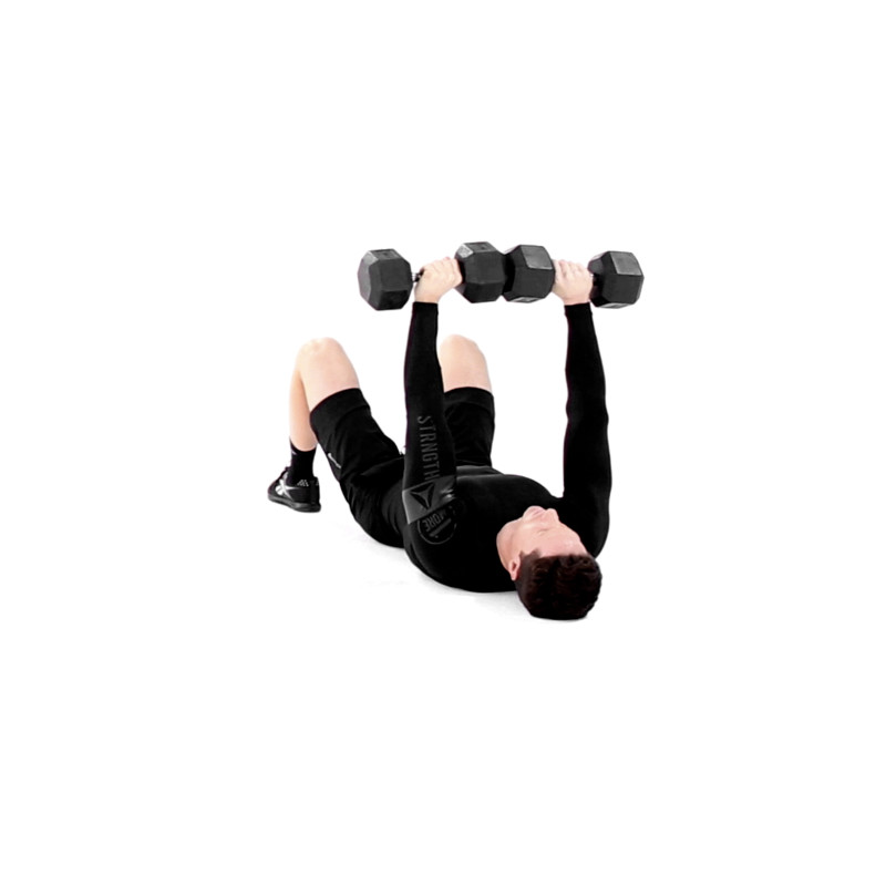 Dumbbell Floor Press Exercise Video