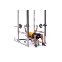 Barbell Pin Bench Press