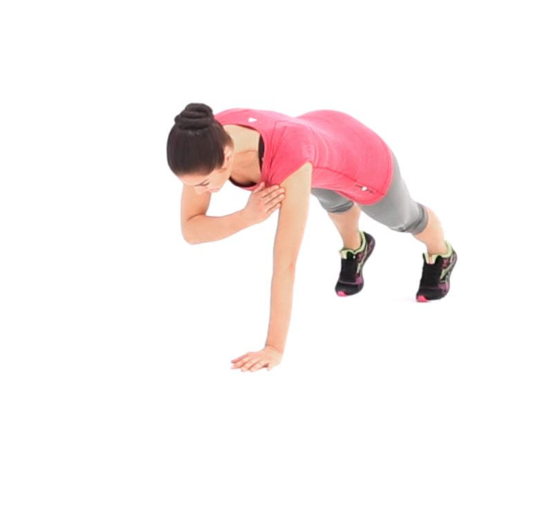 Straight-Arm Plank with Shoulder Touch